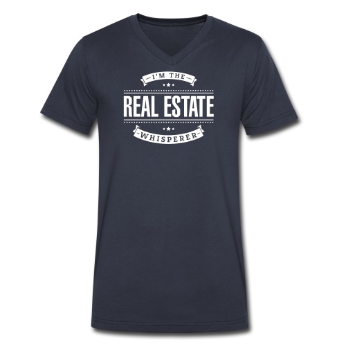 I'm The Real Estate Whisperer - Men's V-Neck T-Shirt by Canvas