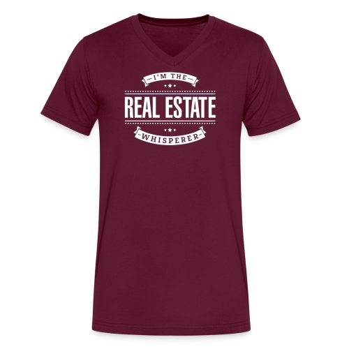 I'm The Real Estate Whisperer - Men's V-Neck T-Shirt by Canvas