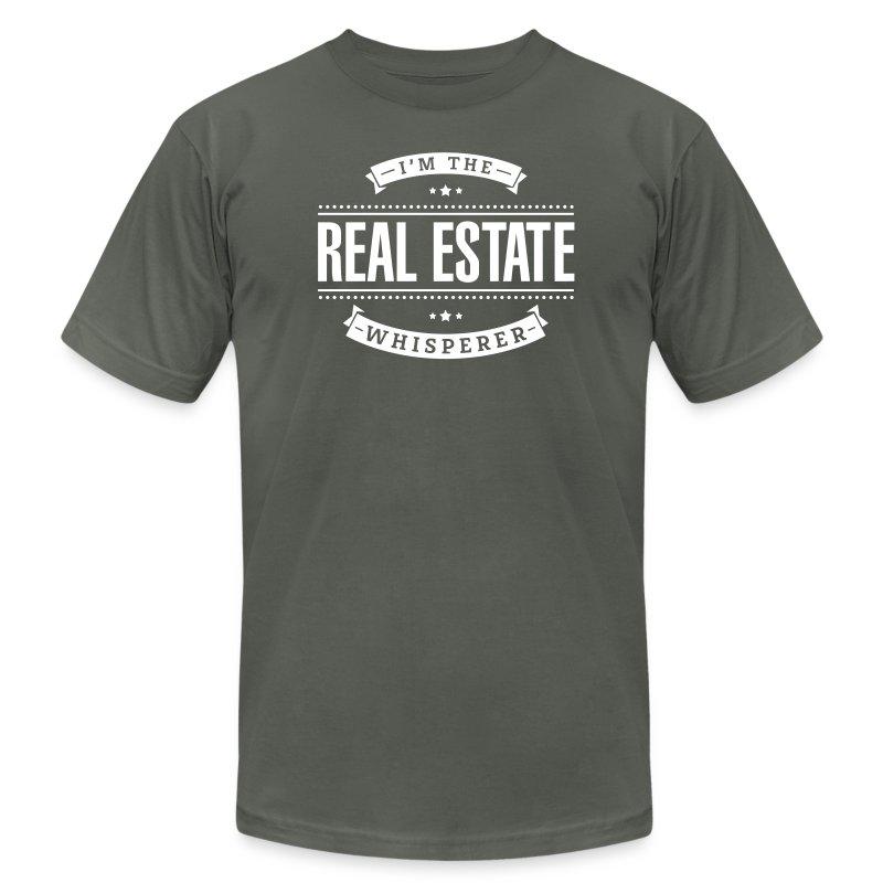 I'm The Real Estate Whisperer - Men's Fine Jersey T-Shirt