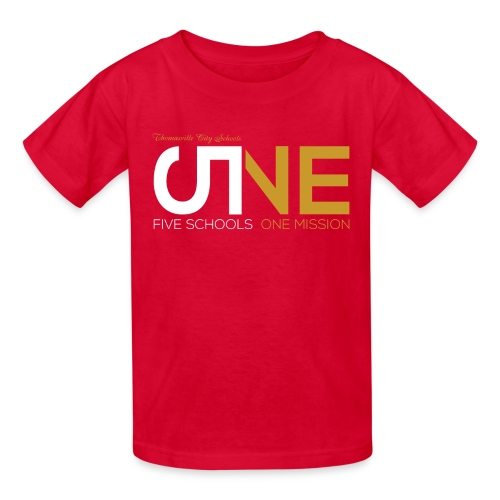 "Kids ""Five Schools-One Mission"" Shirt - Kids' T-Shirt"