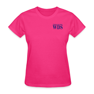 WDS Lines (navy) - Women's T-shirt (more colors available) - Women's T-Shirt