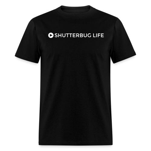 Shutterbug Life black tee - Men's T-Shirt