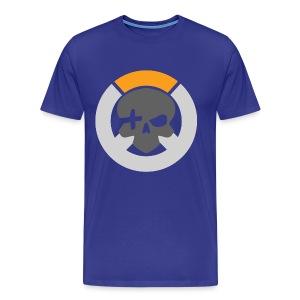 Royal Blue Inverted Logo Mens Tee - Men's Premium T-Shirt