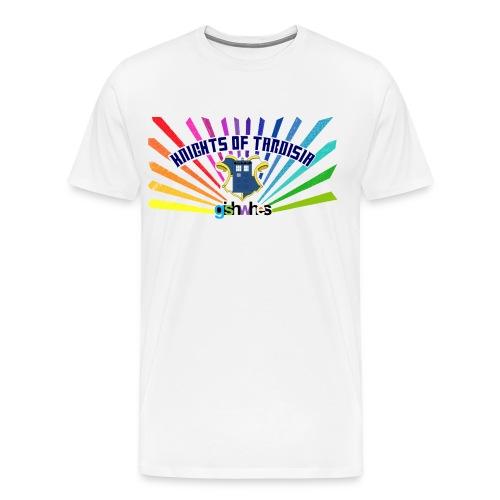 Unisex Shirt Knights of TARDISia  - Men's Premium T-Shirt