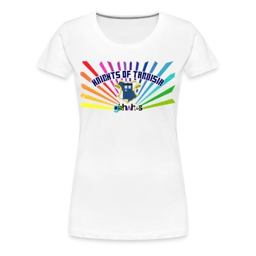 Ladies Shirt Knights of TARDISia - Women's Premium T-Shirt