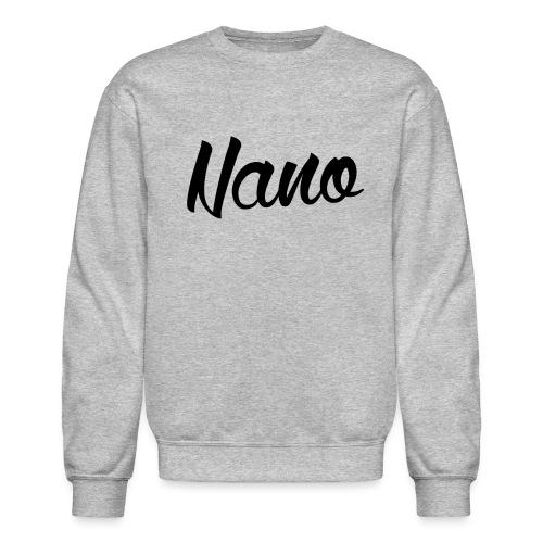 Nano Calligraphy Sweatshirt (Black Text) - Crewneck Sweatshirt
