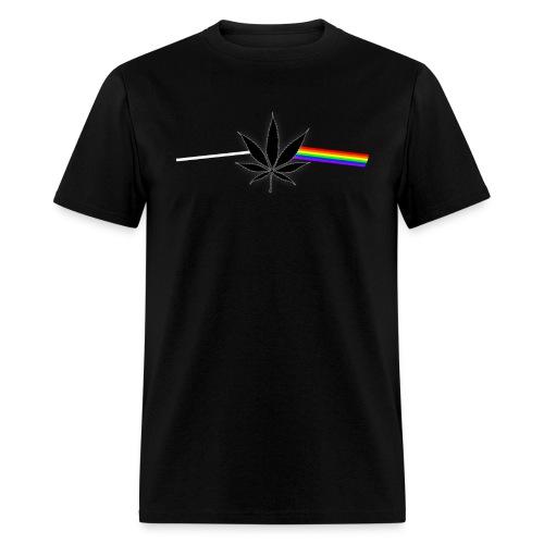 Dank Side of the Weed - Men's T-Shirt
