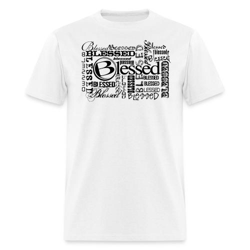 Men's Blessed Multi3 - Light - Men's T-Shirt