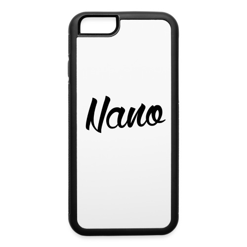 iPhone 6/6S Nano Calligraphy (Black Text) - iPhone 6/6s Rubber Case