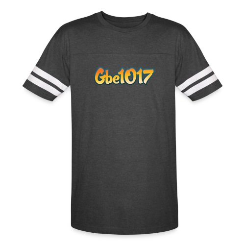 Official GBE1017 logo striped tee - Vintage Sport T-Shirt
