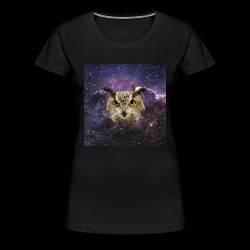 Trippy Owl FEM - Women's Premium T-Shirt