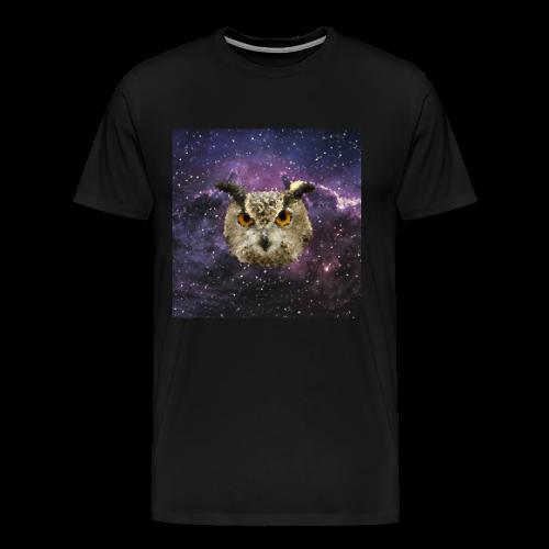 Trippy Owl - Men's Premium T-Shirt