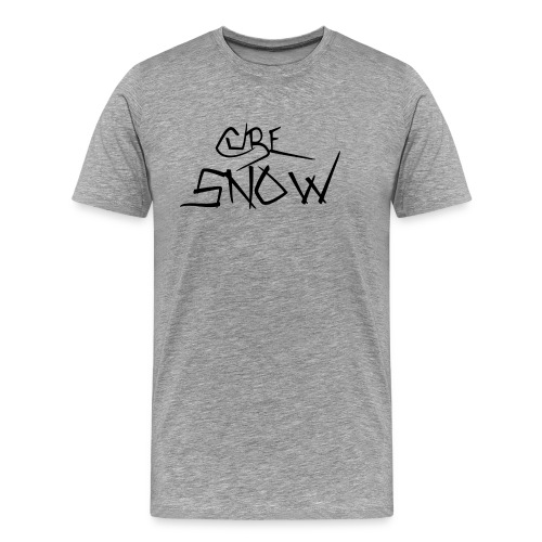 CuBe Snow Logo 2016 Men's T-Shirt - Men's Premium T-Shirt