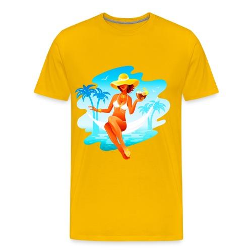 Remember last Summer Men's T-Shirt - Men's Premium T-Shirt