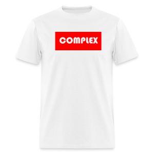 Complex Red T-shirt - Men's T-Shirt