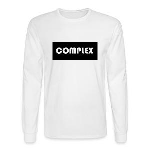 Complex black tee - Men's Long Sleeve T-Shirt