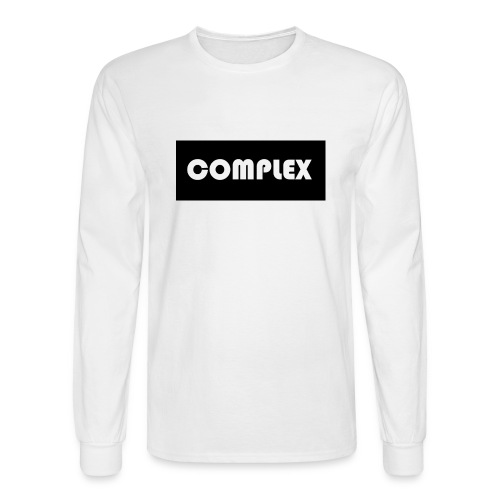Complex black tee - Men's Long Sleeve T-Shirt