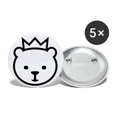 Berlin Bear - Buttons small 1'' (5-pack)