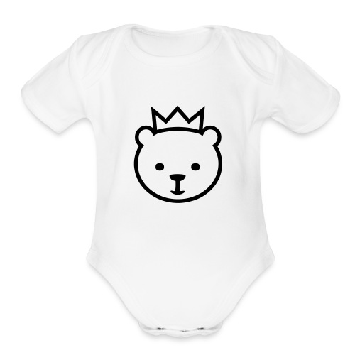 Berlin Bear - Organic Short Sleeve Baby Bodysuit