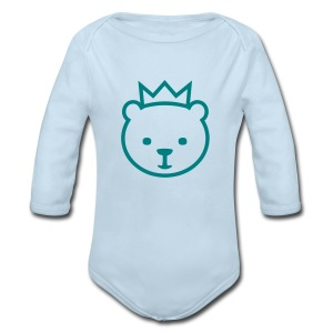 Berlin Bear - Long Sleeve Baby Bodysuit