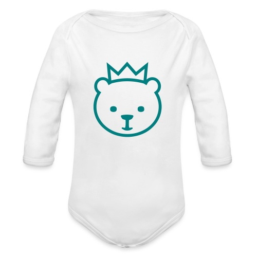 Berlin Bear - Organic Long Sleeve Baby Bodysuit