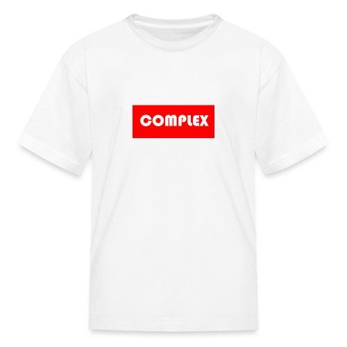 Kidz Complex T-shirt Red - Kids' T-Shirt