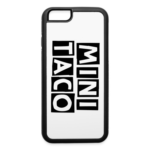 Mini Taco IPhone 6/6s Rubber Case - iPhone 6/6s Rubber Case