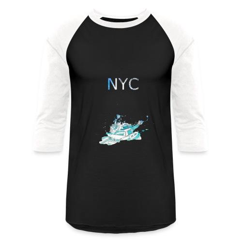 NYC Dark Long T - Baseball T-Shirt