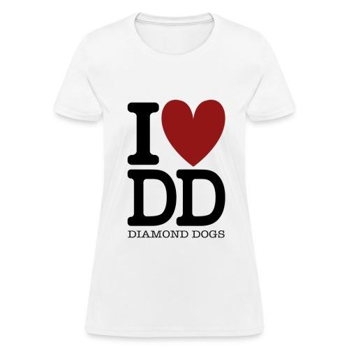 Metal Gear Solid - I Love Diamond Dogs - Women's T-Shirt