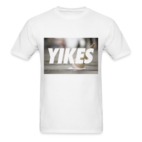 YIKES (made this for a friend who never bought it but hey it's pretty dope.) - Men's T-Shirt