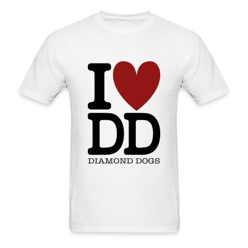 Metal Gear Solid - I Love Diamond Dogs - Men's T-Shirt