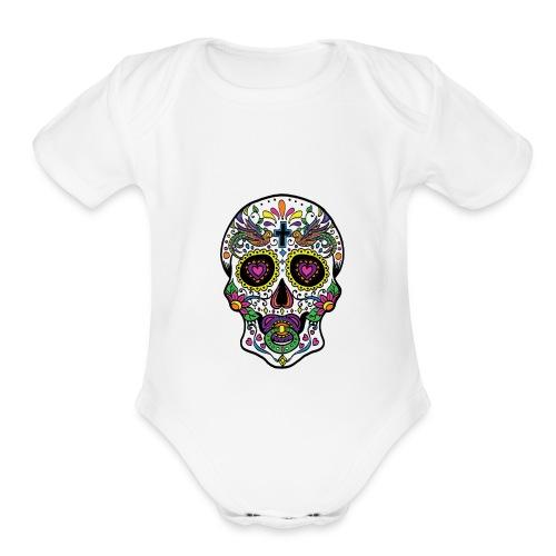 Sugar Baby   - Organic Short Sleeve Baby Bodysuit