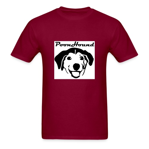 Just a cheerful PoonHound! - Men's T-Shirt