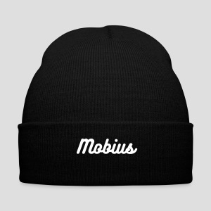 Mobius Beenie - Knit Cap with Cuff Print