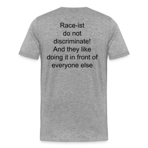 Race-ist T-shirt - Men's Premium T-Shirt