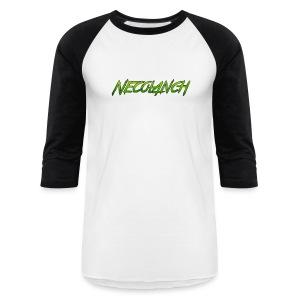 Baseball shirt: Necolanch Green - Baseball T-Shirt