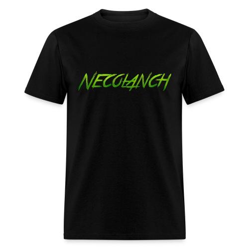 Black shirt: Necolanch Green - Men's T-Shirt