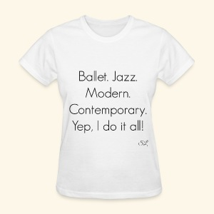 DANCER T-shirt by Stephanie Lahart  - Women's T-Shirt