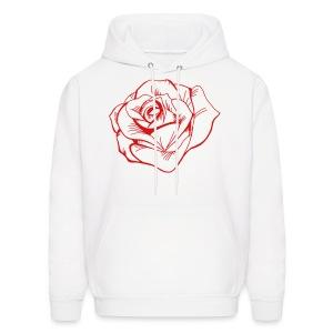 White Roses hoodie - Men's Hoodie