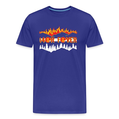 Men's Premium T-Shirt - mountains,hiking,fourteener,colorado,climbing,14er,14'ers
