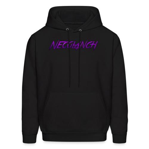 Black hoodie: Necolanch Purple - Men's Hoodie