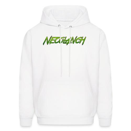 White hoodie: Necolanch Green - Men's Hoodie