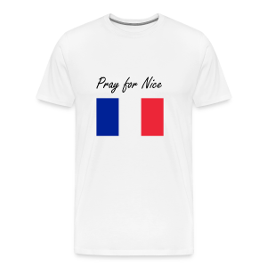 Pray for Nice - Men's Premium T-Shirt