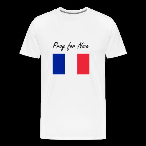 Pray for Nice - Men's Premium T-Shirt