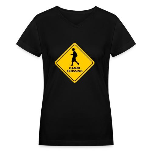 Womens V-Neck Tee - Women's V-Neck T-Shirt