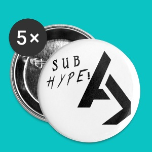 SUB hype button - Large Buttons