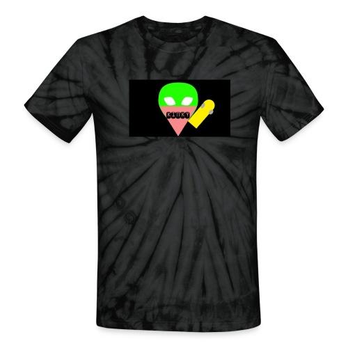 kinky tie dye Alien RIDER - Unisex Tie Dye T-Shirt