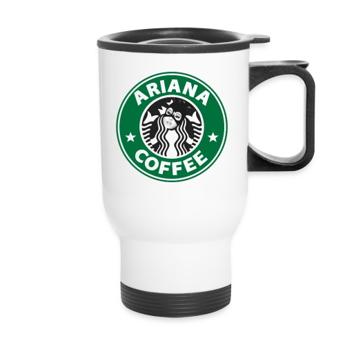 'Ariana Coffee' Travel Mug - Travel Mug