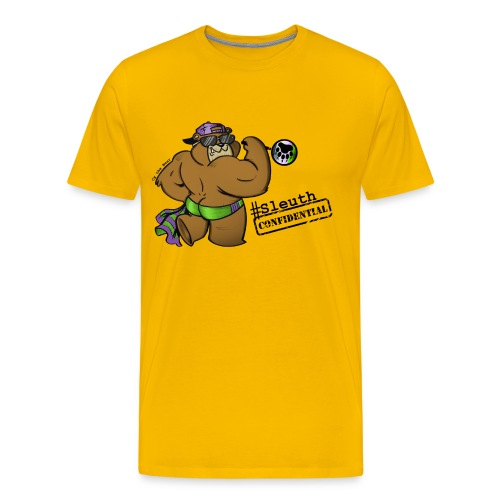 #SleuthConfidential Tee - Men's Premium T-Shirt
