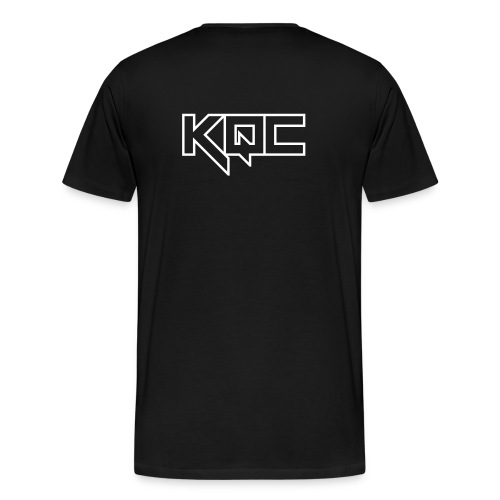 Logo Shirt KQC Back - Men's Premium T-Shirt